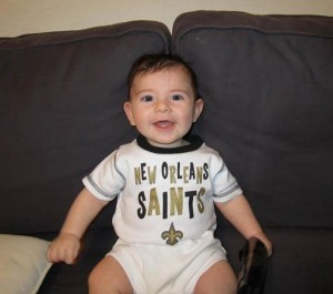 So happy to be a Saints fan