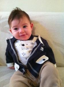 What a little gentleman!