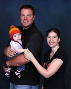 In a Jayne hat with Adam Baldwin at Austin Comic Con