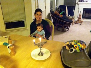 First Chanukah